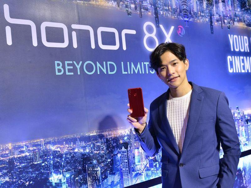 HONOR 8X สมาร์ทโฟนพลังแรง แต่ราคาเริ่มต้นแค่ 7,990 บาท