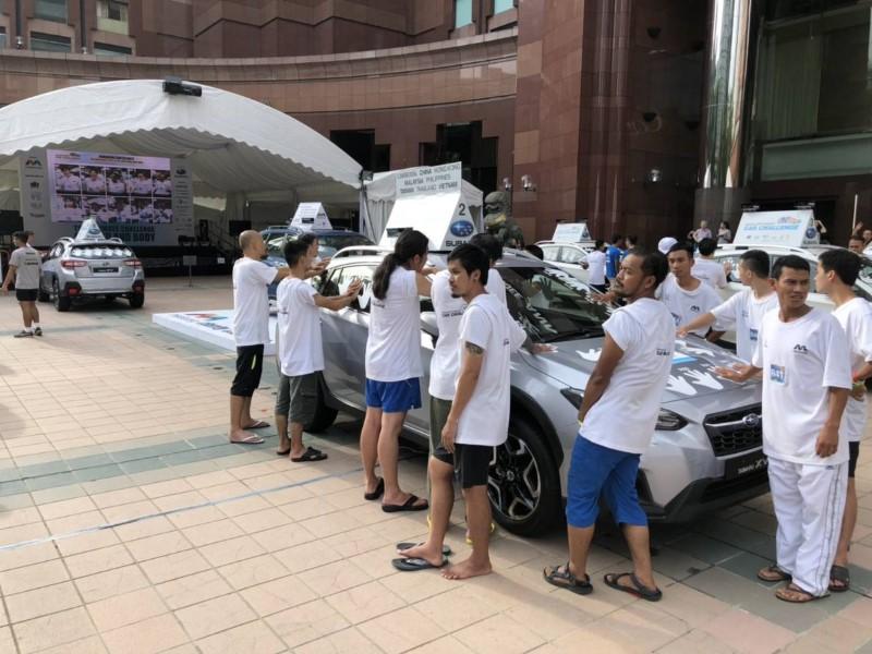 """""""43 ชั่วโมง กับผู้แข็งแกร่งคนไทย 5 คนสุดท้าย ในงาน Mediacorp Subaru Car Challenge 2018"""""""