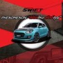 """""""ซูซูกิ"""" ชวนร่วมประกวดตกแต่งรถยนต์ Suzuki SWIFT PHENOMENON """"สไตล์ไหน สไตล์คุณ"""" ชิงรางวัลใหญ่ แพคเกจท่องเที่ยวประเทศญี่ปุ่น"""