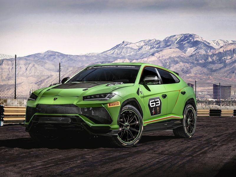 Lamborghini Urus ST-X Concept รถแข่งทั้งทางเรียบ & ออฟโรด