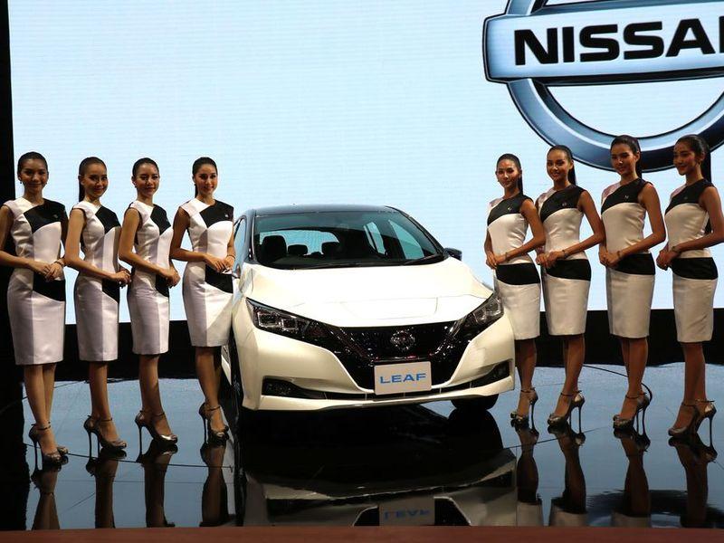 นิสสัน ลีฟ รถพลังงานไฟฟ้า 100% เปิดราคา 1,990,000 บาท