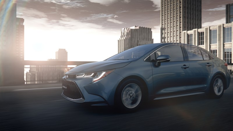 ถึงเวลาของ Toyota Corolla ตัวถังซีดาน
