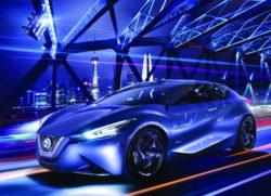 Nissan 360 รถต้นแบบนิสสัน เฟรนด์-มี ซีดานสปอร์ตหรูสำหรับคนจีน