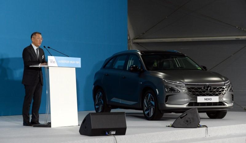Hyundai Motor Group วางแผนเร่งพัฒนาเพื่อเป็นผู้เทคโนโลยีไฮโดรเจน