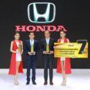 ฮอนด้า คว้า 3 รางวัล TAQA Award ในงานมหกรรมยานยนต์ ครั้งที่ 35