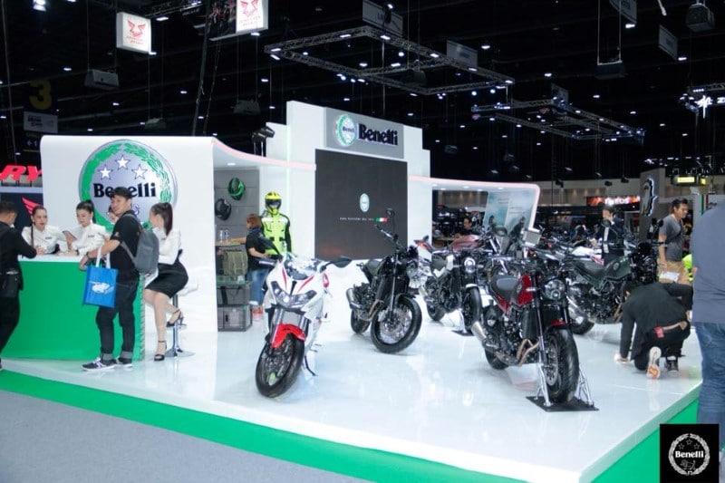 BENNELLI ร่วมงาน Motor Expo 2018