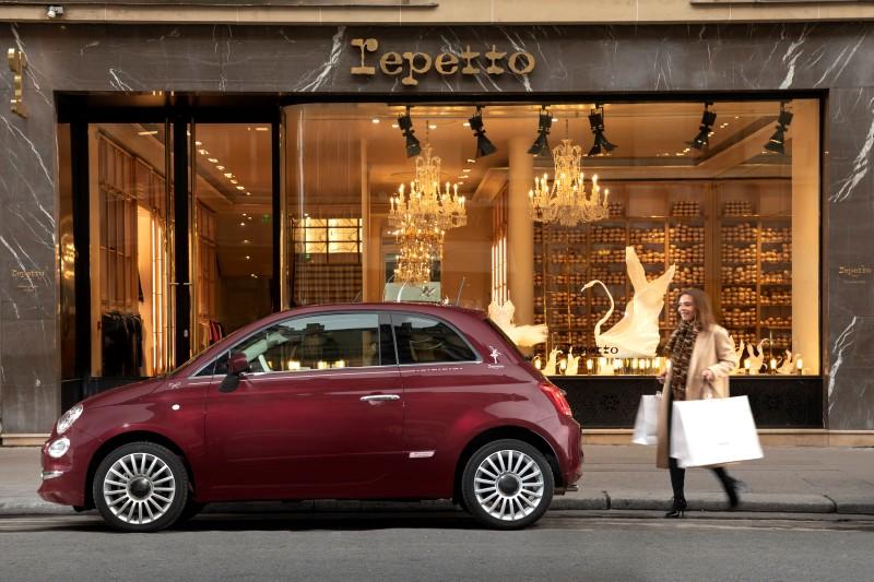 Fiat 500 by Repetto แต่งพิเศษเอาใจคนชอบบัลเลต์