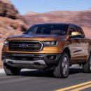 Ford Ranger ครองตำแหน่งรถปิคอัพขนาดกลางอัตราสิ้นเปลืองน้ำมันดีที่สุดในอเมริกา