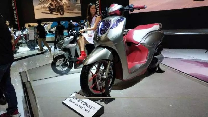 HONDA SCOOPY 150…มองข้ามช็อตไปที่ปีหน้า Honda เตรียมส่ง Scoopy 150 ลงตลาดปีหน้า