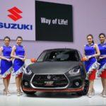 SUZUKI MOTOR ร่วมงาน Motor Expo 2018…พร้อมรถทุกรุ่นในค่ายมาเต็มบูธ