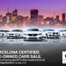 """""""Barcelona Certified PRE-OWNED Car Sale"""" อีเว้นท์เอาใจคอรถระดับพรีเมี่ยม"""