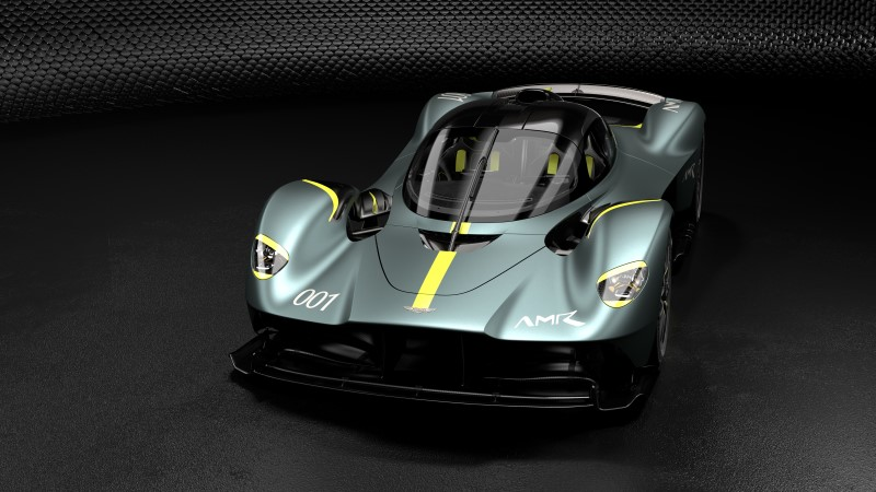 Aston Martin เพิ่มออฟชั่น AMR Track Performance Pack ให้ Valkyrie