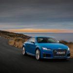 Audi TTS ปรับโฉมให้รุ่นแรงของสปอร์ตสองที่นั่ง