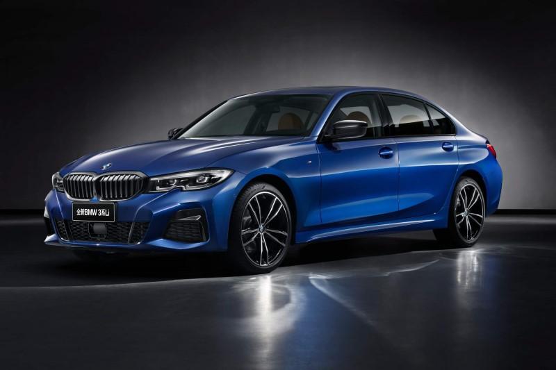 BMW ยืดความยาวของ 3 Series ซีดานสำหรับตลาดจีน
