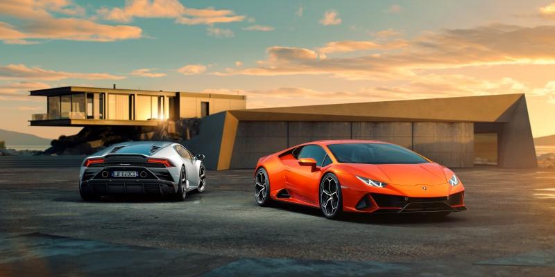 Lamborghini Huracan EVO ปรับแอโรไดนามิกพร้อมใช้พลังจากรุ่นสมรรถนะสูง