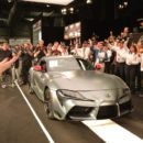 เคาะราคาสุดท้าย 2.1 ล้านดอลล่าร์สำหรับ Toyota Supra ใหม่คันแรก