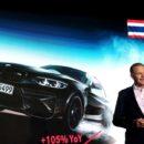 บีเอ็มดับเบิลยู กรุ๊ป ประเทศไทย สร้างสถิติใหม่เติบโตปีต่อปีที่ 20%