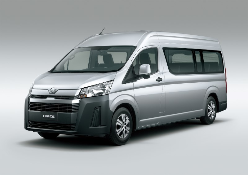 Toyota เปิดตัว Hiace โฉมใหม่สำหรับตลาดโลกที่ฟิลิปปินส์