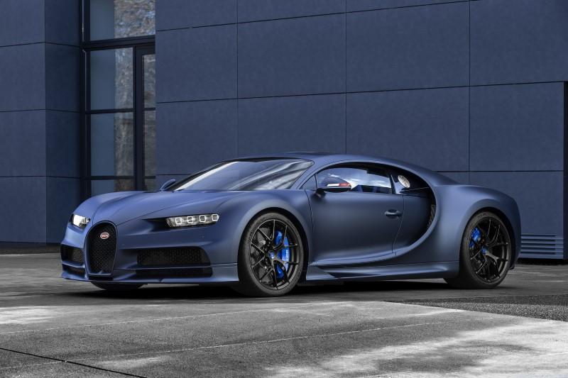 Bugatti Chiron Sport 110 Ans Edition แต่งด้วยสีธงฝรั่งเศส