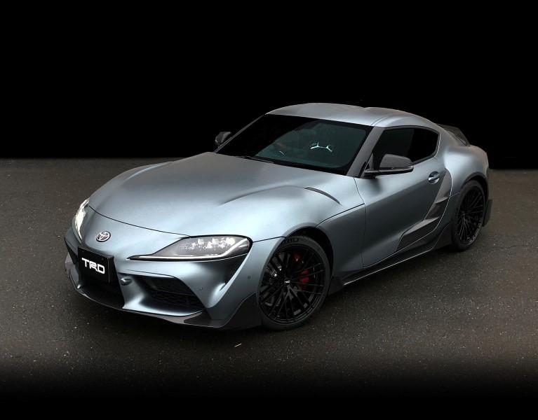 Toyota GR Supra Performance Line Concept มาแล้วชุดแต่งเสริมแอโรไดนามิกจาก TRD