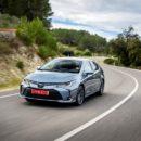 Toyota  ระบุเครื่องสองเครื่องยนต์ Corolla ซีดานลุยยุโรป