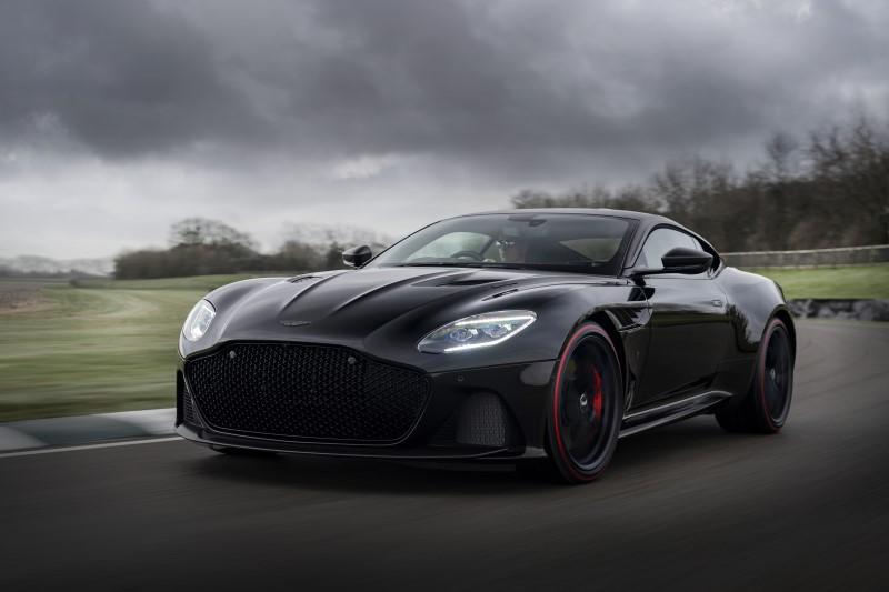 Aston Martin Super DBS Superleggera Tag Heuer Edition รถปอร์ตคู่นาฬิกาหรู
