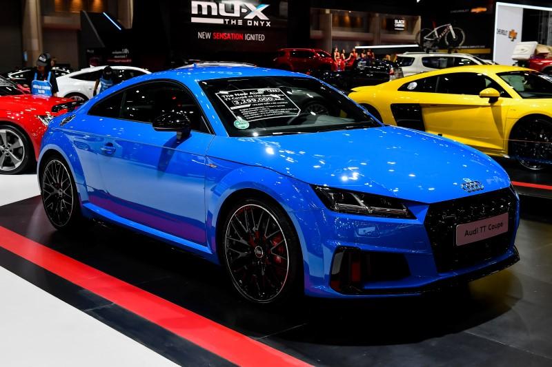 อาวดี้ ประเทศไทย ขอเสนอยนตรกรรมไอคอน...The New Audi TT Coupé 45 TFSI quattro S line