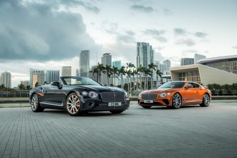 Bentley Continental GT V8 ทางเลือกเครื่องยนต์ที่เล็กลงแต่ยังคงความหรู