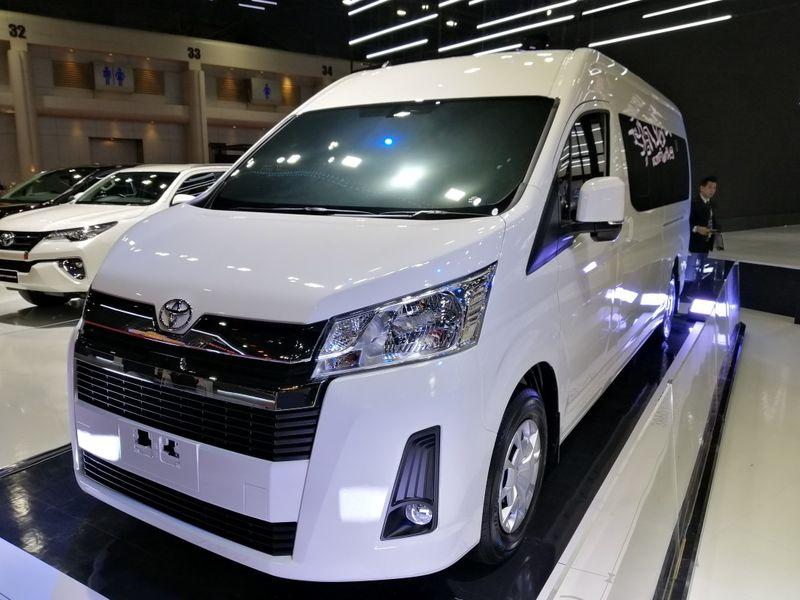 สิ้นสุดการรอคอย !! The All New Toyota Commuter อวดโฉมกลางงานมอเตอร์โชว์ ครั้งที่40