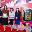 """อีซูซุรับมอบรางวัล """"แบรนด์น่าเชื่อถือสูงสุดแห่งปี"""" (Thailand's Most Admired Brand) ติดต่อกันเป็นปีที่ 10"""