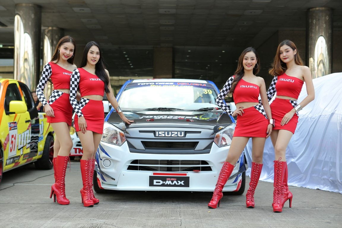 """อีซูซุเปิดศึกการแข่งขัน """"ISUZU ONE MAKE RACE 2019"""" เฟ้นหาสุดยอดเจ้าแห่งความเร็ว"""