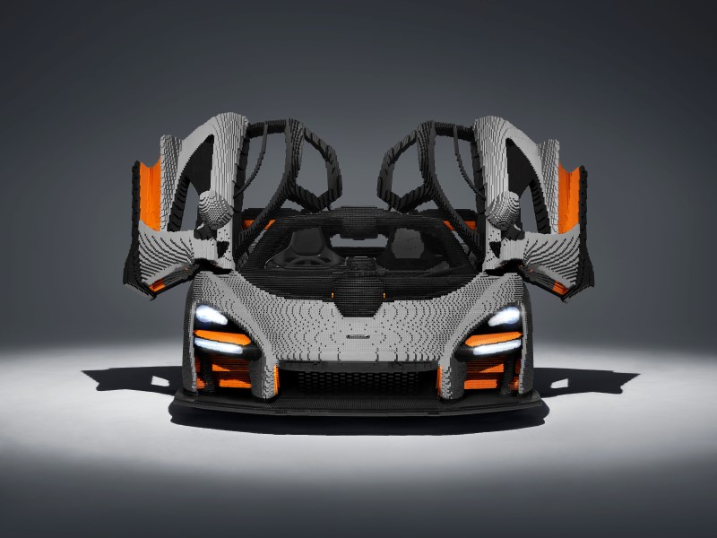 มาอีกแล้ว Lego McLaren Senna ขนาดเท่าคันจริง