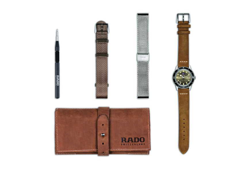 RADO Captain Cook Limited Edition เรือนเวลาวินเทจลุคสำหรับนักเดินทางยุคใหม่
