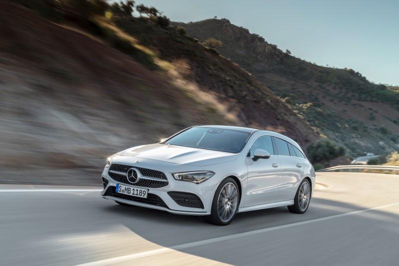 Mercedes-Benz CLA Shooting Brake รุ่นใหม่ของ 4 ประตูคูเป้สำหรับผู้มีสัมภาระมาก