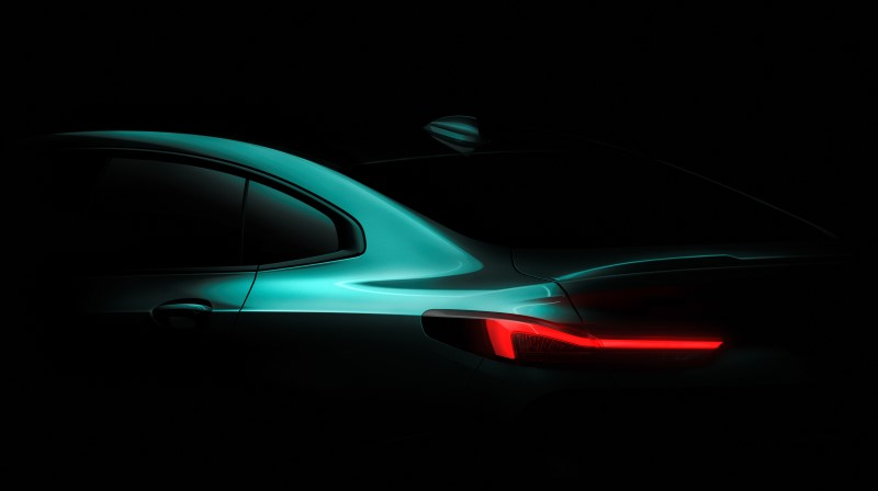 BMW เผยภาพแรกของ 2 Series Grand Coupe