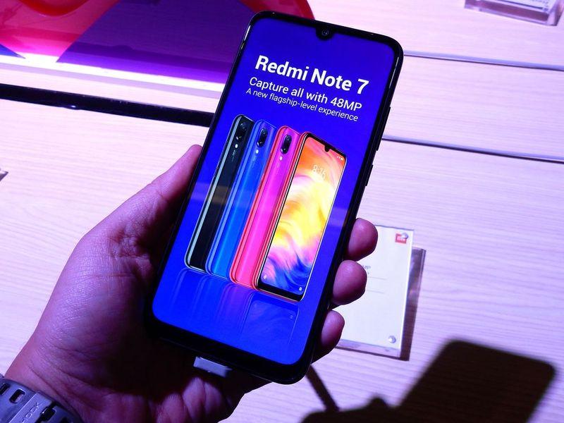 เสียวหมี่ Redmi Note 7 ใหม่ สเปคแรง กล้อง 48MP เปิดราคาสุดโหดคู่แข่งสะเทือน!!