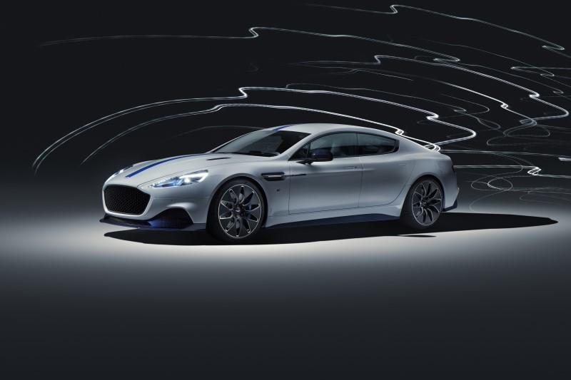 Aston Martin Rapide E พร้อมแล้วสำหรับการผลิตและจำหน่าย