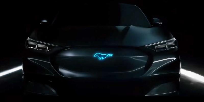 Mustang Mach-E หรือจะเป็นชื่อใหม่ของรถไฟฟ้าจาก Ford
