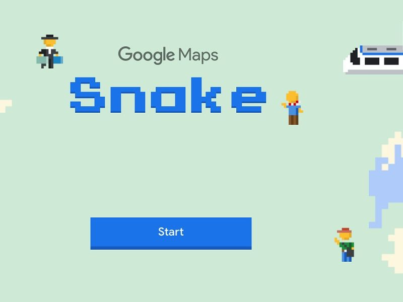วัยรุ่น 90's อย่าพลาด! Google Maps ปล่อยเกมงูฉลองวันโกหกโลก!
