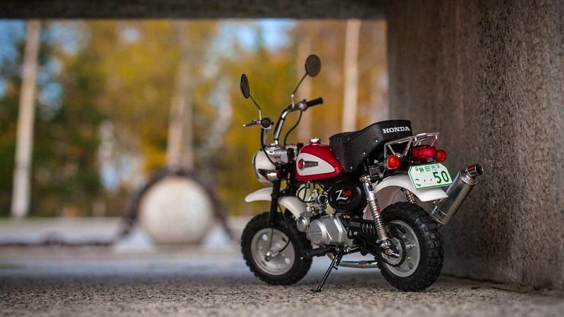 TAMIYA เตรียมวางจำหน่าย Model Honda Monkey 125 กลางปีนี้...