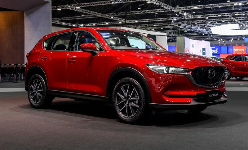 บูธ Mazda ในงาน บางกอก อินเตอร์เนชั่นแนล มอเตอร์โชว์ 2019