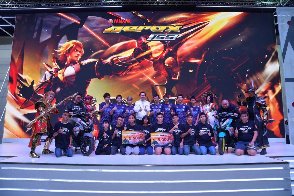 ยามาฮ่าจัดงาน AEROX x RoV Day โชว์แข่งขันสดเกม RoV ในงานบางกอก อินเตอร์เนชั่นแนล มอเตอร์โชว์ 2019…