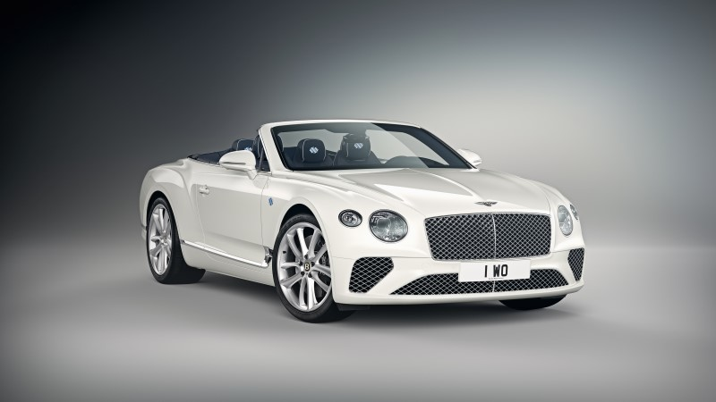 Bentley Continental GT Convertible Bavaria Edition พิเศษสุดเพียงคันเดียว
