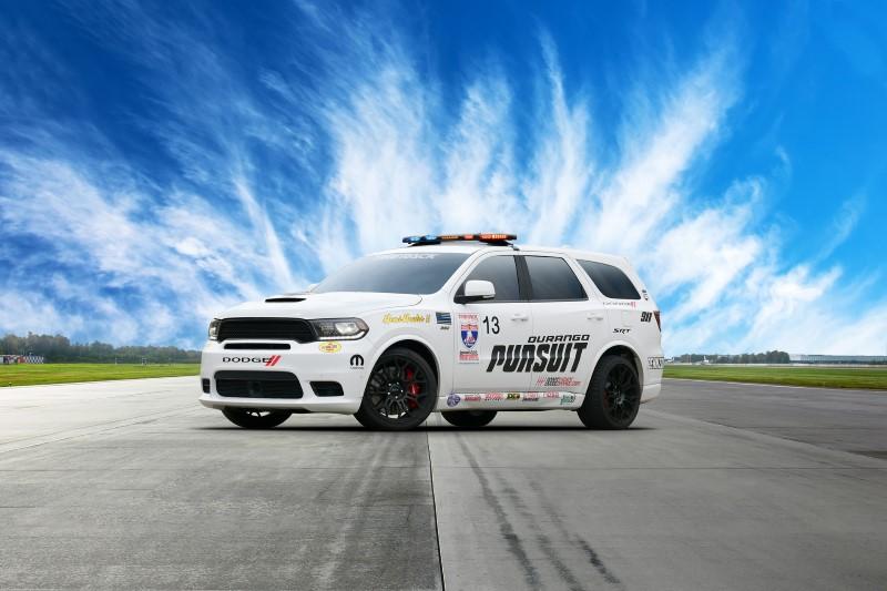 Dodge Durango SRT Pursuit Speed Trap Concept เกือบ 800 แรงม้าเพื่อระยะทาง 4,000 ไมล์