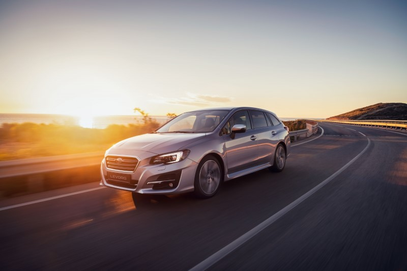 Subaru ปรับโฉมพร้อมเครื่องยนต์ใหม่ให้ Levorg ในอังกฤษ