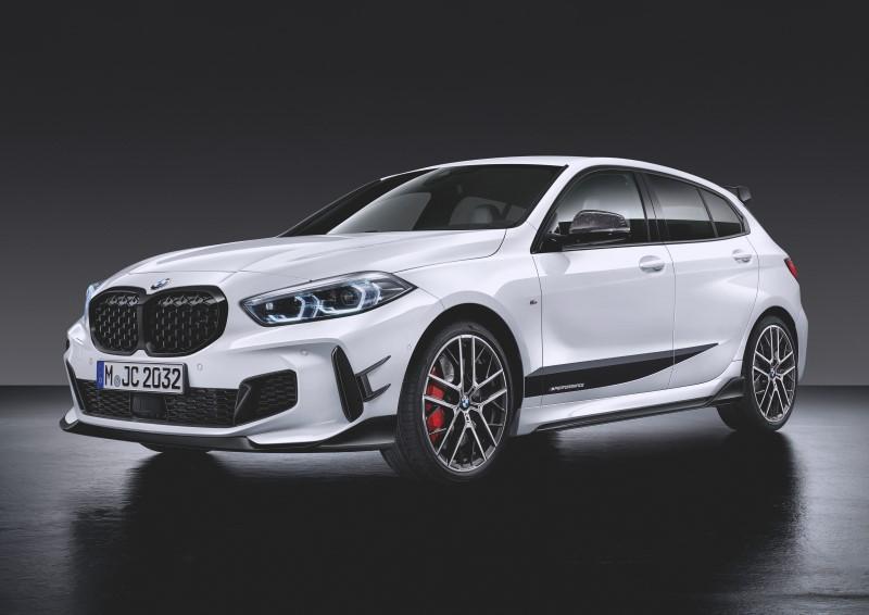 เร็วทันใจ BMW เปิดตัวชุดแต่ง M Performance สำหรับ 1 Series