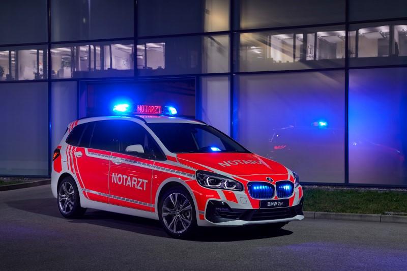 BMW โชว์รถเพื่อภาระกิจพิเศษในงาน RETT mobile