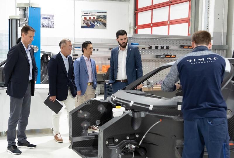 Hyundai Motor Group ร่วมมือ Rimac พัฒนารถไฟฟ้าสมรรถนะสูง