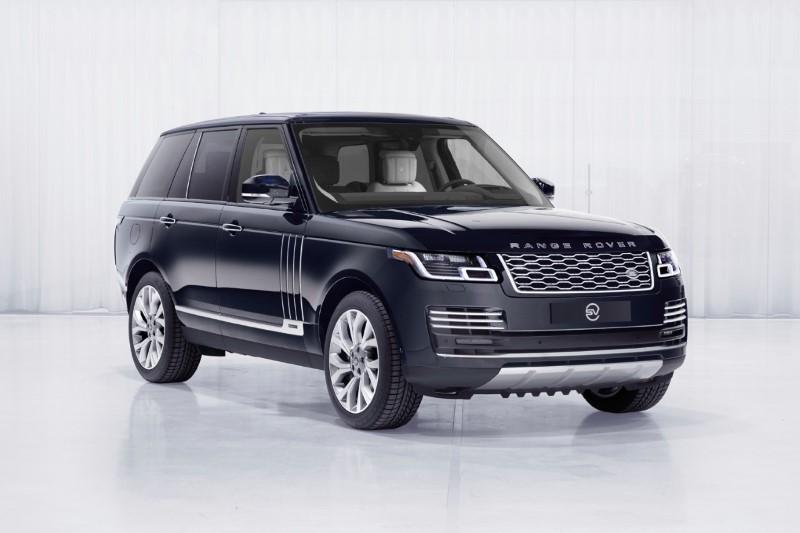 Range Rover Astronaut Edition สิทธิพิเศษเฉพาะผู้ท่องอวกาศ