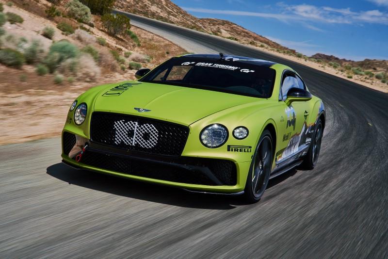 Bentley เตรียมสร้างสถิติที่ Pikes Peak ด้วย Continental GT